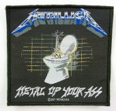 Metallica - 'Metal Up Your Ass' Woven Patch